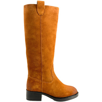 Schoenen Dames Hoge laarzen Apepazza F0BEATRIX02/SPL Bruin