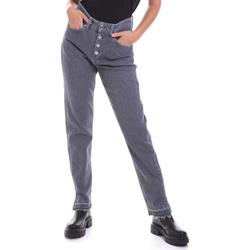 Textiel Dames Straight jeans Calvin Klein Jeans K20K202114 Grijs