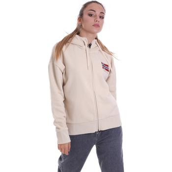 Textiel Dames Sweaters / Sweatshirts Napapijri NP0A4EOH Beige