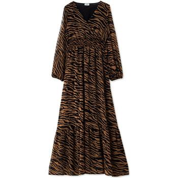 Textiel Dames Lange jurken Liu Jo WF0194 T0110 Zwart