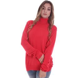 Textiel Dames Truien Gaudi 021BD53026 Rood