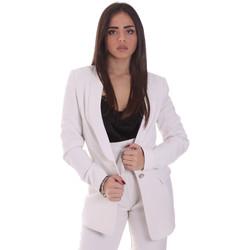 Textiel Dames Jasjes / Blazers Gaudi 021FD35028 Beige