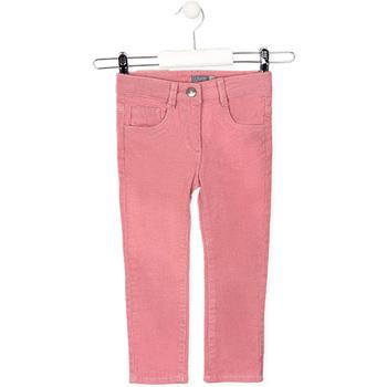 Textiel Kinderen 5 zakken broeken Losan 026-9001AL Roze