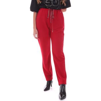 Textiel Dames Broeken / Pantalons Gaudi 021BD25026 Rood