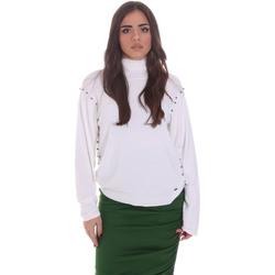 Textiel Dames Truien Gaudi 021BD53026 Wit