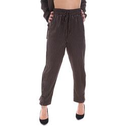 Textiel Dames Chino's Gaudi 021FD25017 Zwart