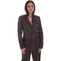Textiel Dames Jasjes / Blazers Gaudi 021FD35031 Zwart