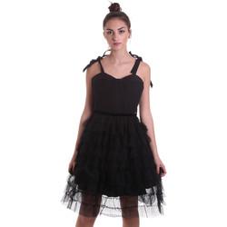 Textiel Dames Korte jurken Fracomina F120W14019W01201 Zwart