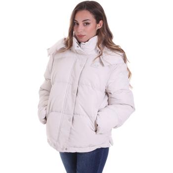 Textiel Dames Dons gevoerde jassen Ea7 Emporio Armani 6HTB02 TN8AZ Beige