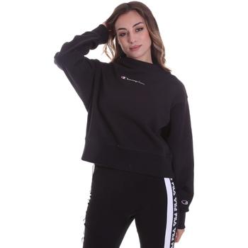 Textiel Dames Sweaters / Sweatshirts Champion 113189 Zwart