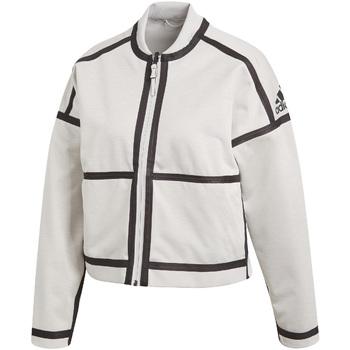 Textiel Dames Trainings jassen adidas Originals CF1465 Wit