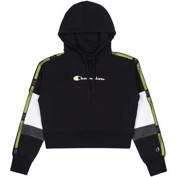 Textiel Dames Sweaters / Sweatshirts Champion 113338 Zwart