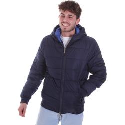 Textiel Heren Dons gevoerde jassen Gaudi 021GU35007 Blauw