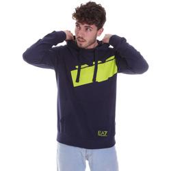 Textiel Heren Sweaters / Sweatshirts Ea7 Emporio Armani 6HPM78 PJ05Z Blauw