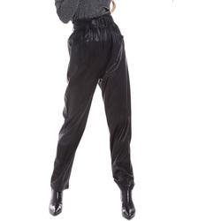Textiel Dames Chino's Liu Jo WF0233 E0392 Zwart