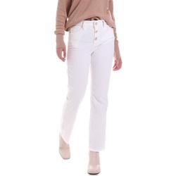 Textiel Dames Jeans Liu Jo WF0312 T4590 Wit
