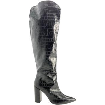 Schoenen Dames Hoge laarzen Grace Shoes 724014 Zwart