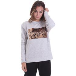Textiel Dames Sweaters / Sweatshirts Calvin Klein Jeans K20K202453 Grijs