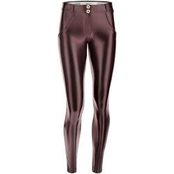 Textiel Dames Leggings Freddy WRUP2RS925 Bruin