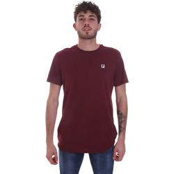 Textiel Heren T-shirts korte mouwen Fila 682393 Rood