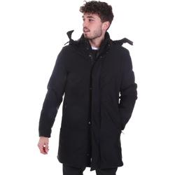 Textiel Heren Mantel jassen Sseinse GBI684SS Zwart