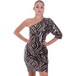 Textiel Dames Korte jurken Liu Jo WF0228 J4033 Zwart
