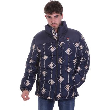 Textiel Heren Dons gevoerde jassen Fila 687882 Blauw