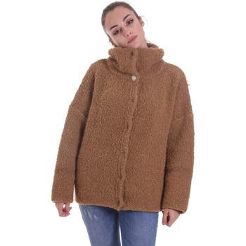 Textiel Dames Vesten / Cardigans Liu Jo MF0125 MA27J Beige