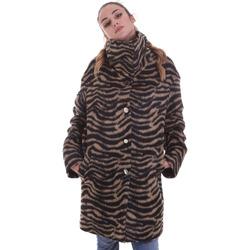 Textiel Dames Mantel jassen Liu Jo WF0231 T4572 Zwart