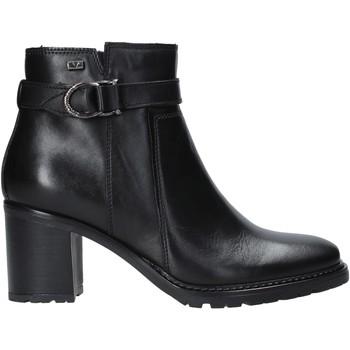 Schoenen Dames Enkellaarzen Valleverde 46084 Zwart