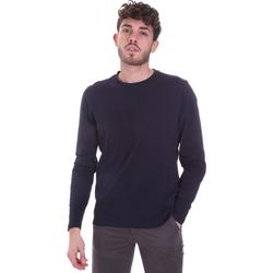 Textiel Heren T-shirts met lange mouwen Sseinse MI1691SS Blauw