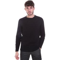 Textiel Heren T-shirts met lange mouwen Sseinse MI1691SS Zwart