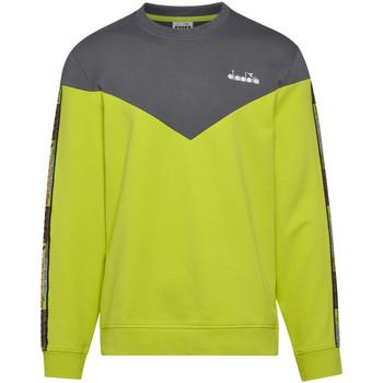 Textiel Heren Sweaters / Sweatshirts Diadora 502176428 Groen
