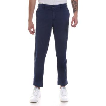 Textiel Heren Chino's Navigare NV55183 Blauw