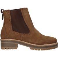 Schoenen Dames Enkellaarzen Docksteps DSW103501 Bruin