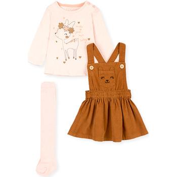 Textiel Meisjes Setjes Losan 028-8005AL Roze