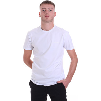 Textiel Heren T-shirts korte mouwen Antony Morato MMKS01855 FA120022 Wit