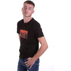 Textiel Heren T-shirts korte mouwen Antony Morato MMKS01880 FA100144 Zwart