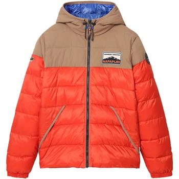 Textiel Heren Dons gevoerde jassen Napapijri NP0A4ENR Oranje