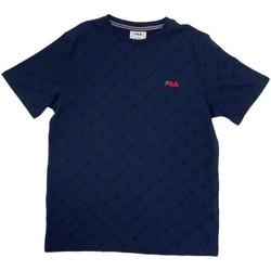 Textiel Jongens T-shirts korte mouwen Fila 688084 Blauw