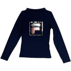 Textiel Kinderen T-shirts met lange mouwen Fila 688102 Blauw