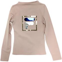 Textiel Kinderen T-shirts met lange mouwen Fila 688102 Beige