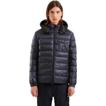 Textiel Heren Dons gevoerde jassen Refrigiwear RM5G06600NY9132 Blauw