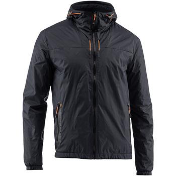 Textiel Heren Wind jackets Lumberjack CM79723 003 407 Zwart