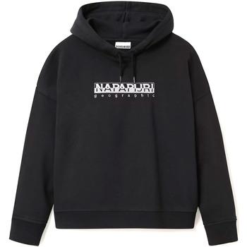 Textiel Dames Sweaters / Sweatshirts Napapijri NP0A4EOF Zwart