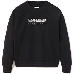 Textiel Dames Sweaters / Sweatshirts Napapijri NP0A4EOG Zwart