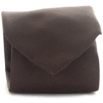 Textiel Heren Stropdassen en accessoires Michi D'amato CRAVATTA 001 Brown