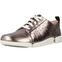 Schoenen Dames Lage sneakers Clarks TriAmelia Edge Goud