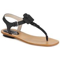 Schoenen Dames Sandalen / Open schoenen Marc Jacobs CHIC CALF Zwart