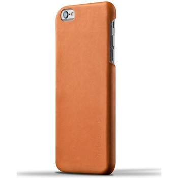 Tassen Telefoontassen Mujjo Leather Case iPhone 6/6S Plus Tan Bruin